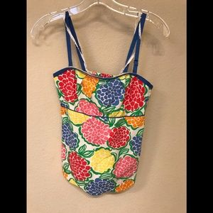 Lily Pulitzer floral top Size 0